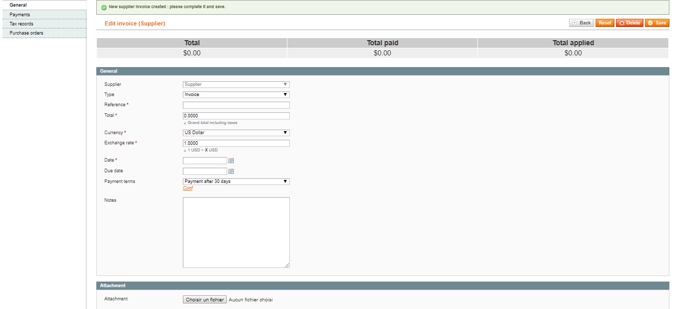 6  Purchase — Embedded ERP for Magento - BoostMyShop Documentation